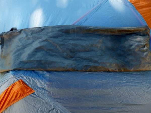 Ripstop silnylon tent pole storage bag