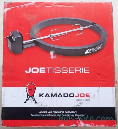 kamado joe joetisserie review