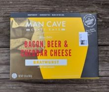 Kamado Joe Man Cave Bacon, Beer & Cheddar Cheese Bratwursts