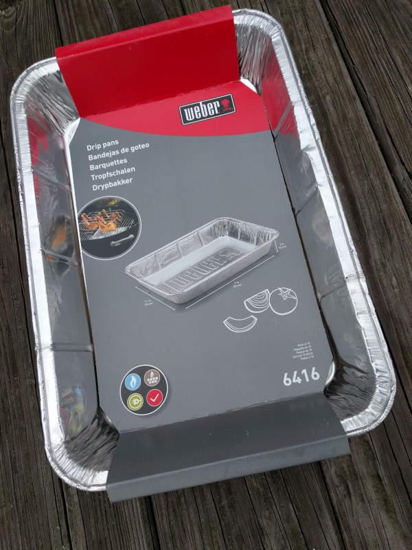 Weber 6416 aluminum foil pan